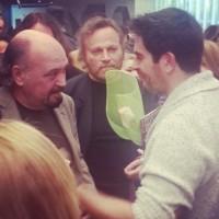 Eli Roth con Claudio Fragasso e Franco nero
