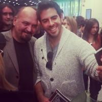 Eli Roth con Claudio Fragasso